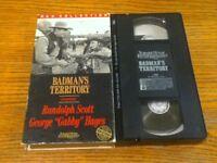Badman's Territory 1946 VHS Randolph Scott Gaby Hayes James Dalton Gangs Western