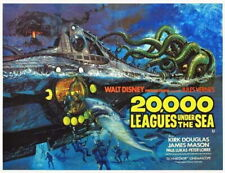 65615 20,000 Leagues Under the Sea Movie Kirk Douglas Wall Print POSTER UK