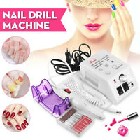 Electric Nail False Acrylic Art File Drill Set Buffer Manicure Machine 30pcs