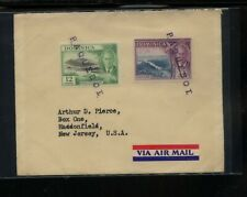 Dominica   nice paquebot  cancels cover  to  US      PS0801