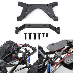 Für Axial SCX10 II Jeep AX90046 90047 CNC Vorne Hinten Rahmen Schienen Halterung