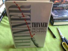 Richard Bachman / Stephen king thinner hardback third impression 1990