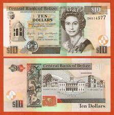 P68d    Belize    10  Dollar  2011    UNC