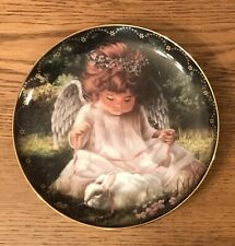 Bradford Exchange Heaven Little Sweethearts Plate An Angel'S Kindness 1St