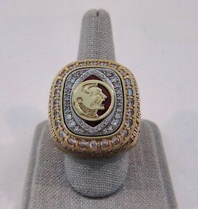 2012 FLORIDA STATE SEMINOLES ACC CHAMPIONS PLAYER CHAMPIONSHIP RING