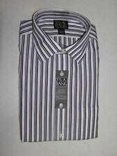 $87.50 Jos A Bank Traveler dress shirt w/ stripe pattern 16 - 35 classic fit