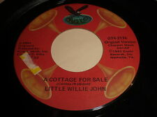 Little Willie John: A Cottage For Sale / Hank Ballard: The Continental Walk 45
