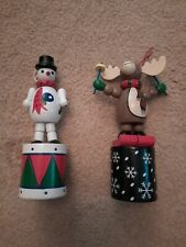 2 Character Christmas Tree Decorations