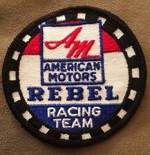 Vintage Patch Rebel Racing Team Muscle Car Hot Rod Rat Rod 80s 70s NOS