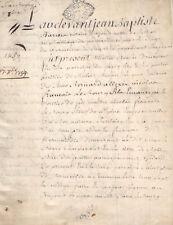 document manuscrit parchemin ancien Normandie 1759 Pont Audemer et divers