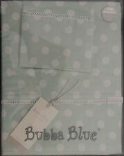 Boori Cot Sheet Set Polka Dots - Premium 100% Cotton - by Bubba Blue