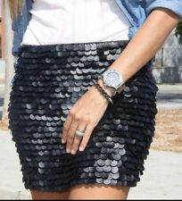 Zara Faux Leather Short/Mini Regular Size Skirts for Women