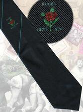 Nsw Centenary 1974. navy 9cm Rugby Tie