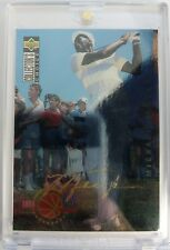 1994 94 COLL CHOICE Michael Jordan Golfing GOLD SIGNATURE Platinum Foil #204