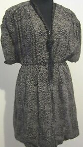 NEW! French Connection Black and White Bubble Dress Size 12 RRP $149
