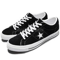 Converse One Star Ox Black White Suede Men Skateboarding Sneakers 158369C