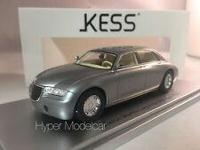 KESS MODEL 1/43 ASTON MARTIN LAGONDA VIGNALE 1993 GREY MET. ART. KE43047011