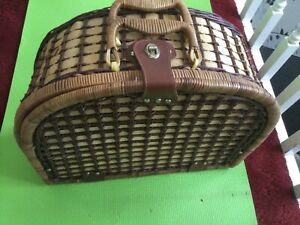 Picnic hamper basket only Vespa lambretta