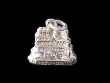 Edimburgo Castello ciondolo argento sterling 925 charmmakers 3d