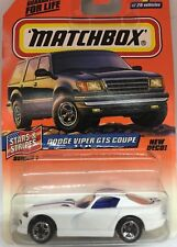 Matchbox Dodge Viper GTS Coupe New Deco Stars & Strips Series #1 of 75 New Pack