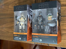 Star Wars Black Series Target Din Djarin Mandalorian, Remnant Stormtrooper LOT