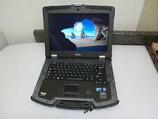 Dell XFR E6400 Ballistic Armor Laptop 2.53Ghz 128GB SSD 4GB TouchScreen Web Cam