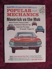 POPULAR MECHANICS August 1969 FORD MAVERICK Olds Delta 88 Chevrolet Impala