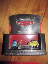 Disney Pixar Cars GUIDO & LUIGI Precision Series Mattel NEW