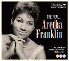 ARETHA FRANKLIN - THE REAL...ARETHA FRANKLIN 3 CD NEW!
