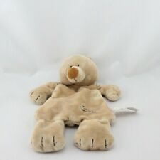 Doudou plat ours beige TIAMO COLLECTION - Ours Plat / Semi plat