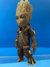 "C79 Custom Baby Groot in Ravager Garb 10"" Loose Figure Guardians of the Galaxy"