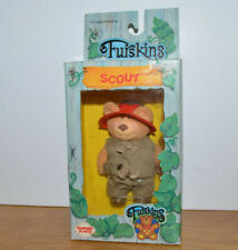 VINTAGE FURSKINS SCOUT DOLL FIGURE MOC PANOSH PLACE MIB 1986 TEDDY BEAR TOY