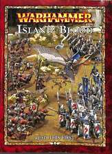 The island of blood, Warhammer, Good Condition Book, ISBN