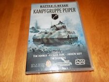 BATTLE OF THE BULGE KAMPFGRUPPE PEIPER SS Panzer Army Group Nazi DVD SEALED NEW