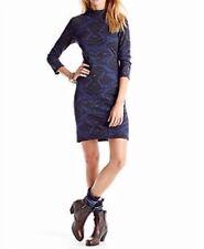 NWT  Free People Cut n Cozy Cut-Out Back Bodycon Stretch Dress XS Midnight  $128