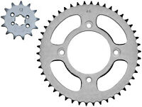 Sprocket set to fit Honda CRF125F (2014-2018) 13t front & 46t rear, 428 pitch