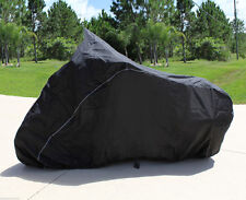 HEAVY-DUTY BIKE MOTORCYCLE COVER VICTORY Hard-Ball Saddle Bags Touring