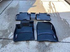 WeatherTech Floor Mats FloorLiner for Honda Accord 2018-2020 Full Set Black