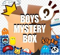 BOYS / UNISEX SURPRISE BOX OF MANY ITEMS BRAND NEW TOYS GIFTS GAMING / KAWAII