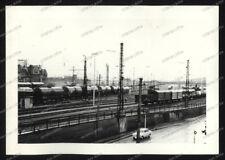 Foto-Stuttgart-Untertürkheim-Rangier-Bahnhof-Güterwagen-