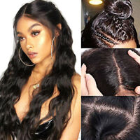 Silk Top Malaysian Human Hair Full Lace Wigs Pre Plucked Lace Front Wigs Wavy P#