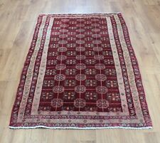 OLD WOOL HAND MADE PERSIAN  ORIENTAL FLORAL RUNNER AREA RUG CARPET 160X 90 CM