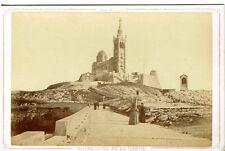 13 - Photo Cabinet - Marseille - Notre Dame de la Garde - ca 1875