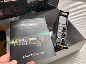Sound Devices MixPre-3 Audio Mixer / Recorder