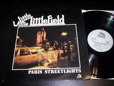 "Little Willie Littlefield ""Paris Streetlights"" LP album PLB 2 28508 France 1980"