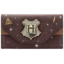 secondo * UFFICIALE Harry Potter Hogwarts GUFO POST Marrone Moneta /& CARD BORSETTA