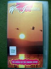 Wildlife International - The World of the Canada Goose (VHS, 1993) OOP