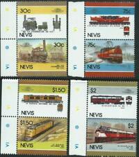 NEVIS - 1986 'RAILWAY LOCOMOTIVES' Series V Set of 4 MNH SG352-59 [A2940]