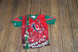 Portugal National Team Portrait Jersey Youth Small fits size 6