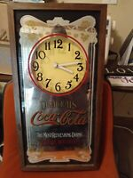Vintage Coca Cola Wall Clock Great for any Collector!!!